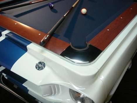 Классический Форд Мустанг стал бильярдным столом