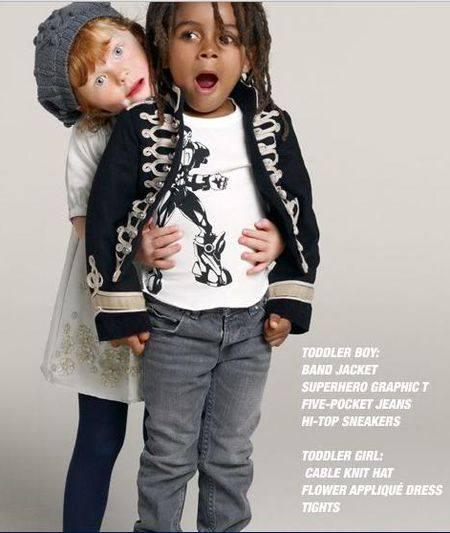 одежда Стелла Маккартни фото детей и животных