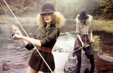 Рыбный день в Vogue Китай