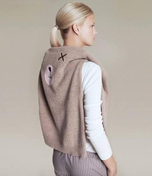 Вязаный свитер, Вязанный свитер