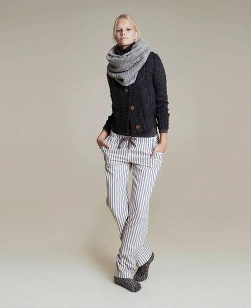 Вязаный стиль в одежде, вязанные вещи