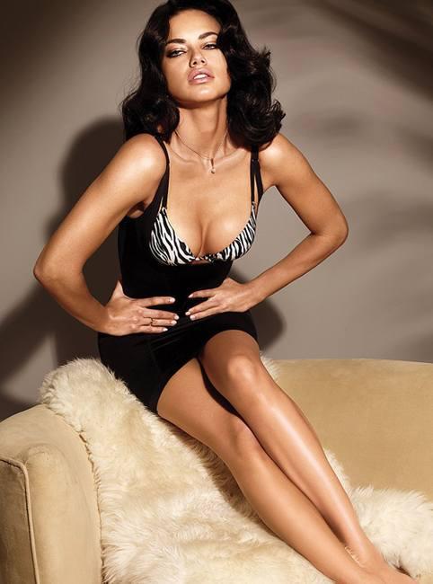 Адриана Лима фото сессия для Victoria`s Secret