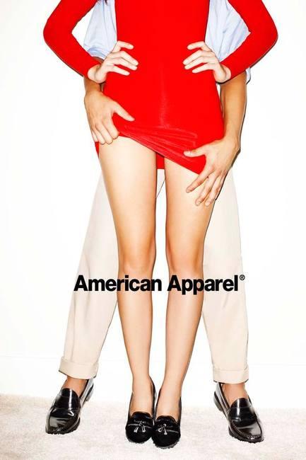 American Apparel откровенные фото