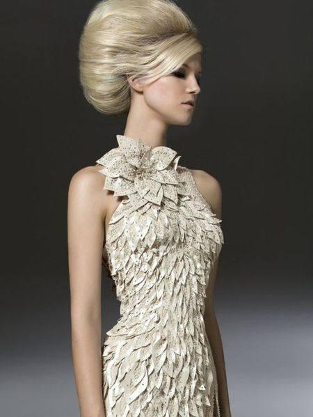 белоснежное платье Versace