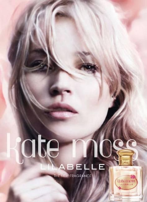 Кейт Мосс рекламе новых духов