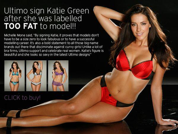Кэти Грин критикует анорексичных моделей