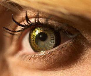 Цветные контактные линзы от Dior