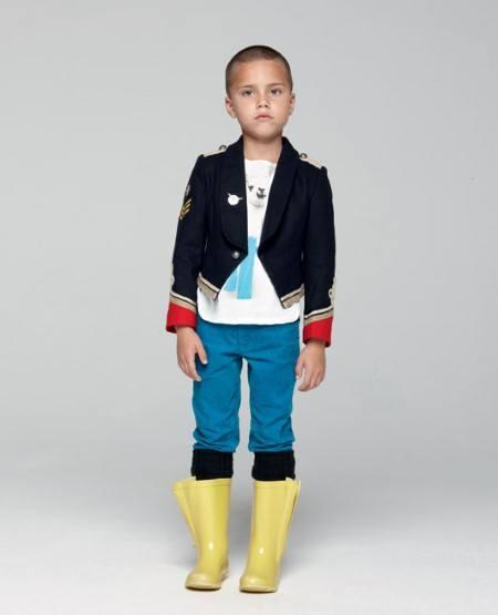 Необычный пиджак для мальчика