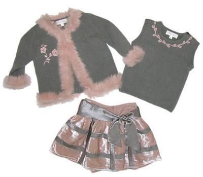 Платье для девочки на Новый Год