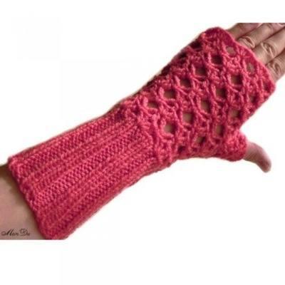 Вязаные перчатки, вязанные перчатки