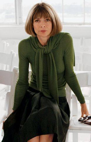 Главный редактор американского издания журнала Vogue Анна Винтур