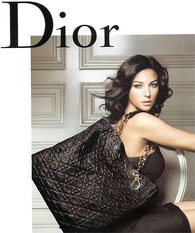 Моника Беллуччи и Dior