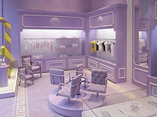 Versce открыли первый бутик для детей!