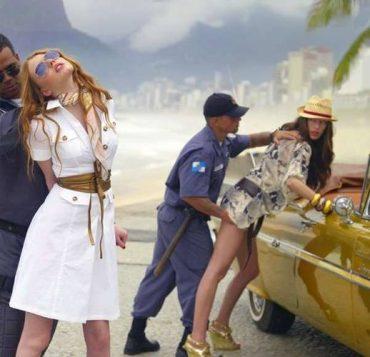 Бразильская полиция в итальянской рекламе