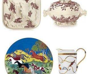 Фантастическая посуда от Hermes