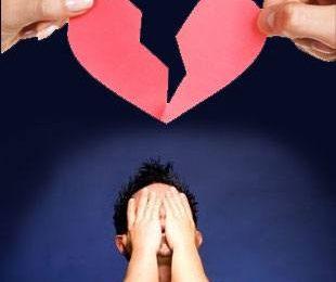 Мужчины хуже переносят расставания