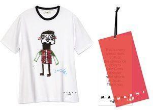 H&M и Marni продают благотворительные футболки