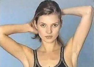 Кейт Мосс в начале карьеры в 1996 году!