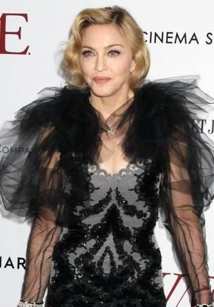 Мадонна в платье от Marchesa