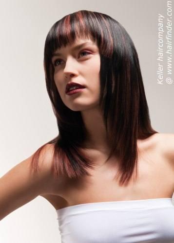 Модные стрижки для волос разной длины