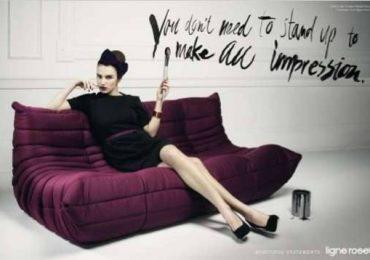 Английская реклама итальянских диванов