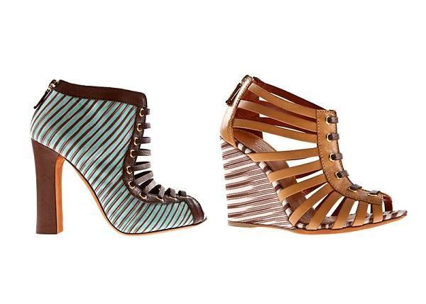 Сумки и обувь от Missoni на весну и лето