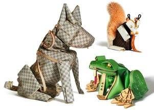 Зоология из сумок Louis Vuitton