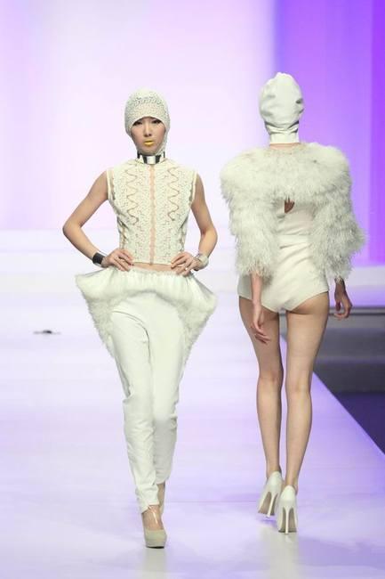 Молодые дизайнеры на Неделе Моды в Китае