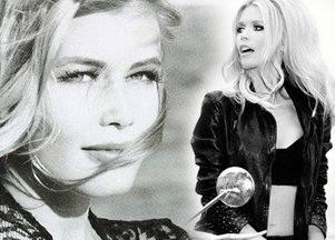 Клаудия Шиффер на 30-е бренда Guess