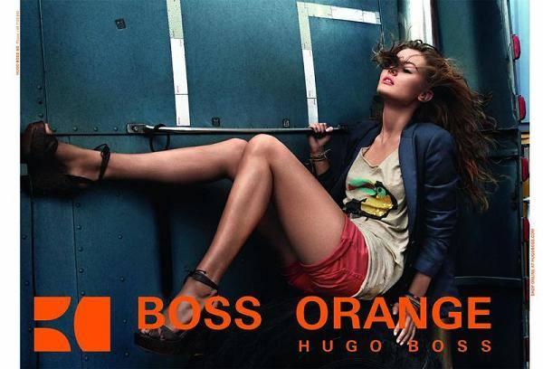 Моника Ягосяк в кампании Hugo Boss Orange