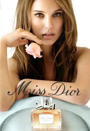 Натали Портман в кампании Miss Dior на весну