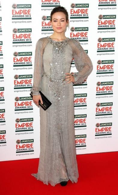 Оливия Уайлд в платье дизайна Каролины Эрреры