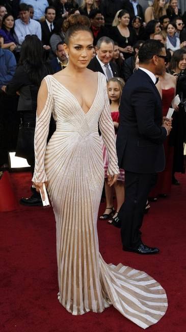 Оскар 2012 - лучшие платья на красном ковре