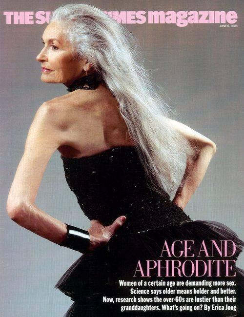 Дафна Селфе - самая старая супермодель