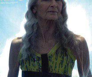 Дафна Селф — самая старая супермодель
