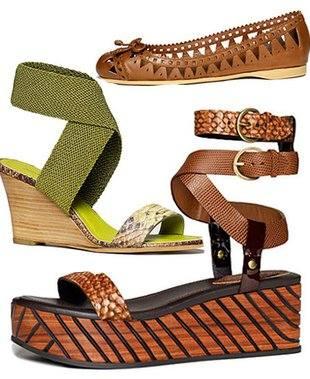 Donna Karan — обувь весна / лето этого сезона