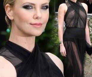 Шарлиз Терон в платье Dior Couture