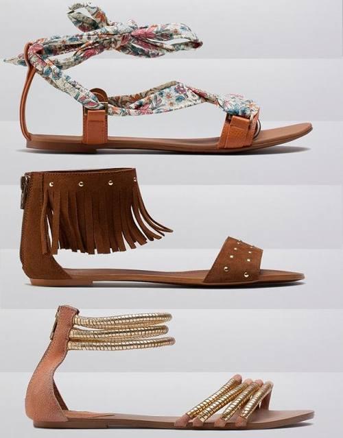 Обувь из весеннего и летнего предложения Bershka