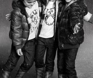Осенняя кампания Burberry Childrenswear для детей
