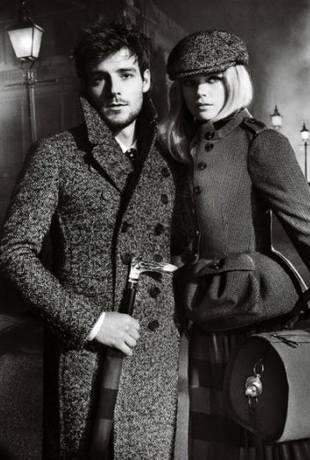 Первые фотографии осенней одежды Burberry