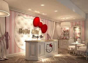 Первый в мире Спа-салон Hello Kitty!