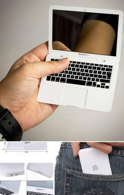 Маленький MacBook для твоей косметички