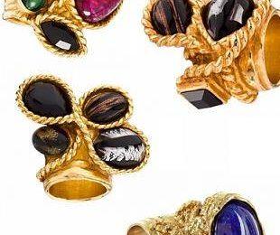 Кольца из летней коллекции Yves Saint Laurent