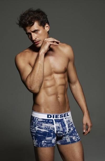 Новая линейка мужского нижнего белья Diesel