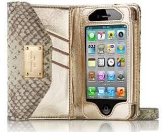Люксовый чехол для iPhone 4S от Michael Kors