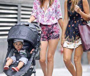 Миранда Керр — модная мама