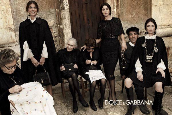 Dolce&Gabbana сезона осень-зима 2012