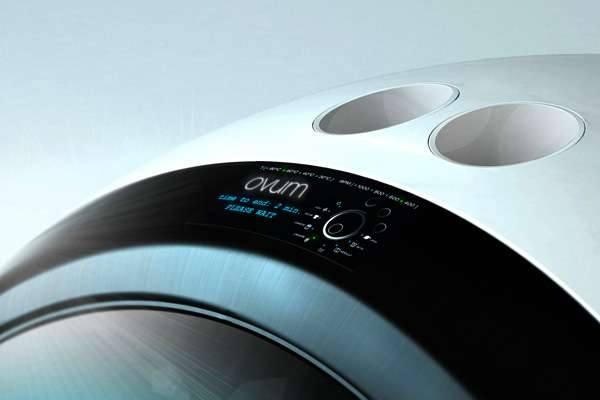 Дизайнерская стиральная машина Ovum