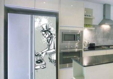 Как разукрашеный холодильник улучшает Ваше самочуствие.