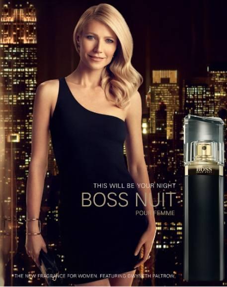 Знаменитость в рекламе Boss Hugo